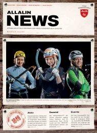Allalin News Nr. 1 - SAAS-FEE | SAAS-GRUND | SAAS-ALMAGELL | SAAS-BALEN