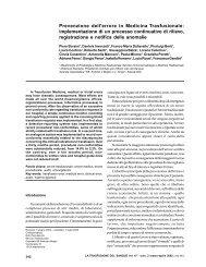 Prevenzione dell'errore in Medicina Trasfusionale - Blood Transfusion