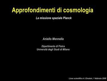 Lancio ed orbita - Liceo scientifico Albert Einstein