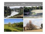 A valle dell'Arno, lungo il fiume, tra gli alberi e verso ... - Sport Informa
