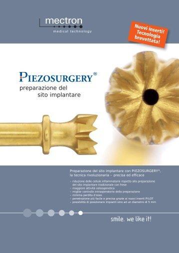 Protocollo clinico per la preparazione del sito implantare ... - Mectron