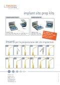 Protocollo clinico per la preparazione del sito implantare ... - Mectron - Page 4