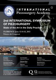 2nd INTERNATIONAL SYMPOSIUM OF PIEZOSURGERY