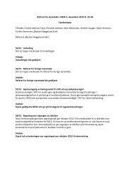 Referat fra styremøte i NESK 3. desember 2012 kl. 19.30 ...