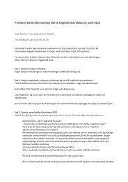 Protokoll Generalforsamling Norsk Engelsksetterklubb 2013 - Nesk