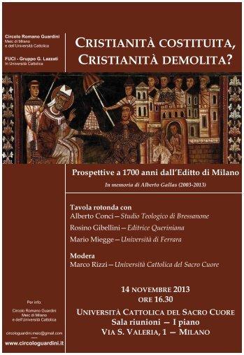 Cristianità - flyer.pdf - Meic