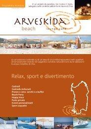 ARVESKIDA programma incentive 2008 - Area Sud
