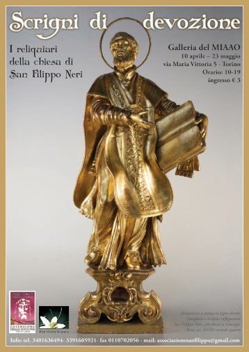 Mostra organizzata dall'Oratorio Torinese - Confederazione dell ...