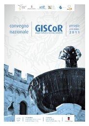 PROGRAMMA CONVEGNO NAZIONALE GISCoR 2011 E ...