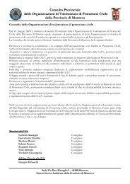 direttivo+OdV.pdf - CSVM Centro Servizi Volontariato Mantovano
