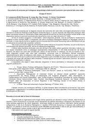 Documento di consenso - Saluter