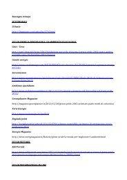 Rassegna stampa - Fondazione Univerde
