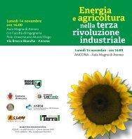 Energia e agricoltura - Fondazione Univerde