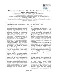 Biogas Production from Mesophilic Co-Digestion of Cheese Whey ...