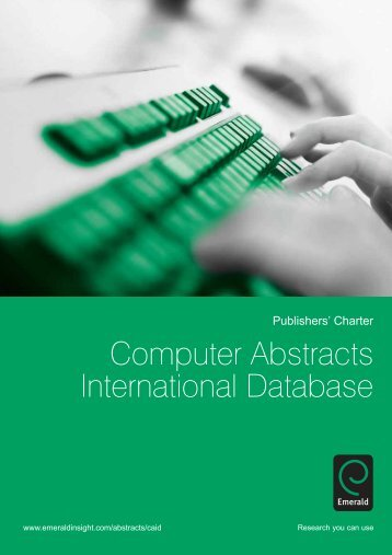 Computer Abstracts International Database