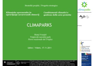 Matej Vranješ - Parco Naturale delle Prealpi Giulie