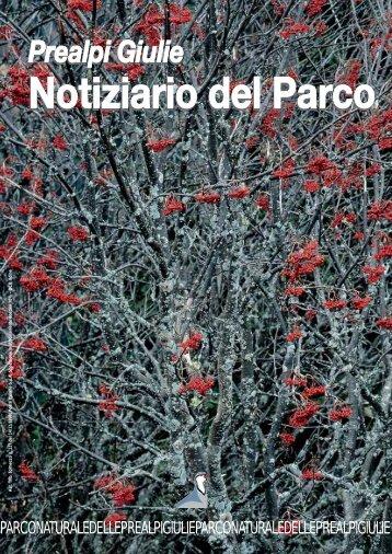 2009 NOTIZIARIO n°3 - Parco Naturale delle Prealpi Giulie