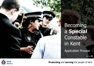 Specials recruitment application guide