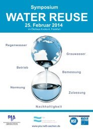 hier (pdf) - Prüf- und Entwicklungsinstitut für Abwassertechnik an der ...
