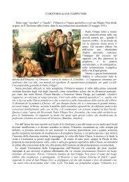 riflessione - Confederazione dell'Oratorio di San Filippo Neri