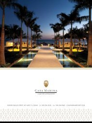 Key West Weddings, Meetings & Events Brochure - Casa Marina