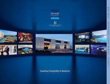 Grandeur Hospitality in Business - Grand Resort Lagonissi