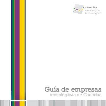 Guía Empresas Cluster Canarias Excelencia Tecnológica. Jornadas ...