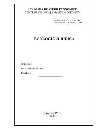 Ecologie Juridica mo..