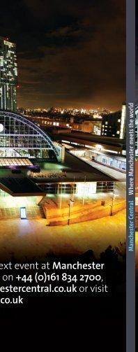Manchester Central - IMEX America