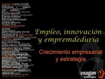 Crecimiento empresarial y estrategia