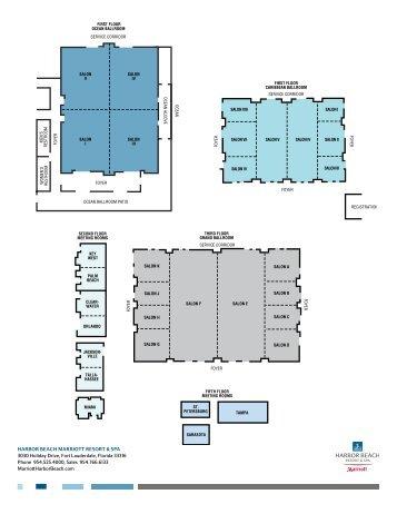 Floor Plan & Capacity Chart - Marriott