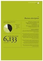 Business description - Hydro