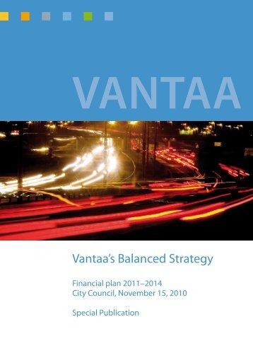 Vantaa's Balanced Strategy