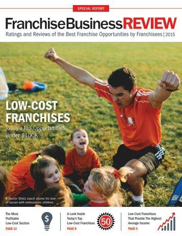 Top Low-Cost Franchises 2015