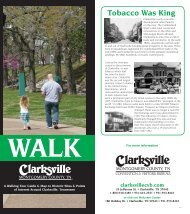 Walk Clarksville Visitor Guide
