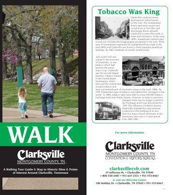 Walk Clarksville Visitor Guide