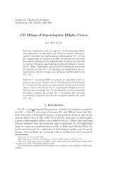 CM liftings of Supersingular Elliptic Curves