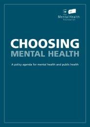 choosing mental health