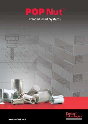 Threaded Insert Systems - JK Schrauben