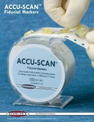 ACCU-SCAN™ Fiducial Markers - febarsrl.it