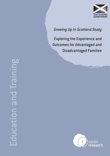 Growing Up In Scotland Study - Scottish Government