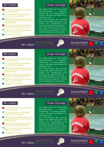 badminton badminton badminton - Polizei Sport Verein Grün-Weiß ...