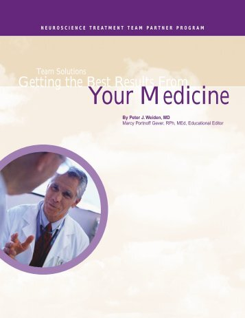 Getting the Best Results From Your Medicine - Florida Self-Directed ...