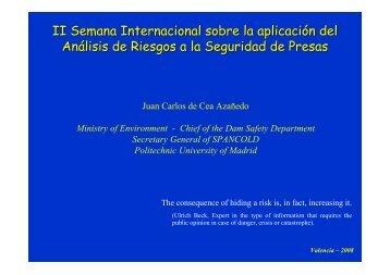 II Semana Internacional sobre la aplicación del Análisis de ... - iPresas