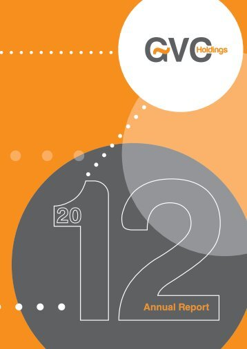 2012 Annual Report - GVC Holdings PLC