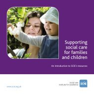 Supporting social care for families and children