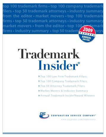Trademark Insider - Corporation Service Company