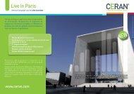 Live in Paris - CERAN