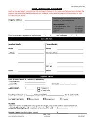 Download Lease Agreement - UCC Accommodation
