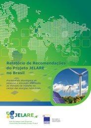 Relatório de Recomendações do Projeto JELARE no Brasil